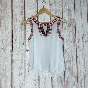 White altard state tank top small